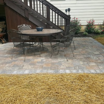 Paver patio in Lebanon, OH